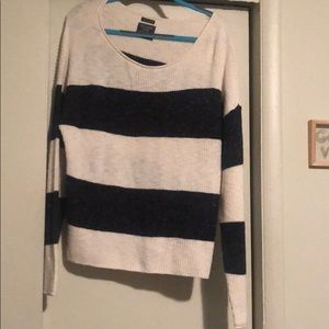 Abercrombie and Fitch striped sweater